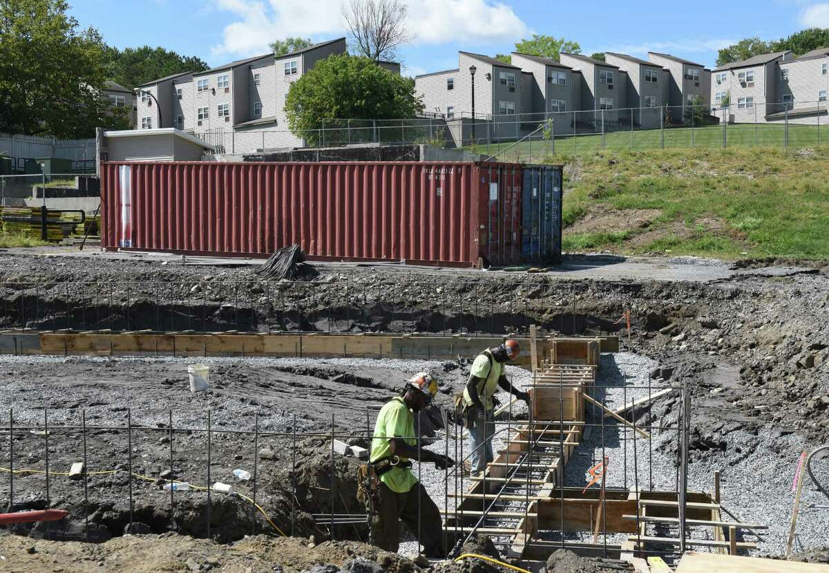 North Pearl Street redevelopment of low-income housing by the Albany Housing Authority on Friday Sept. 9, 2016 in Albany, N.Y. (Michael P. Farrell/Times Union)