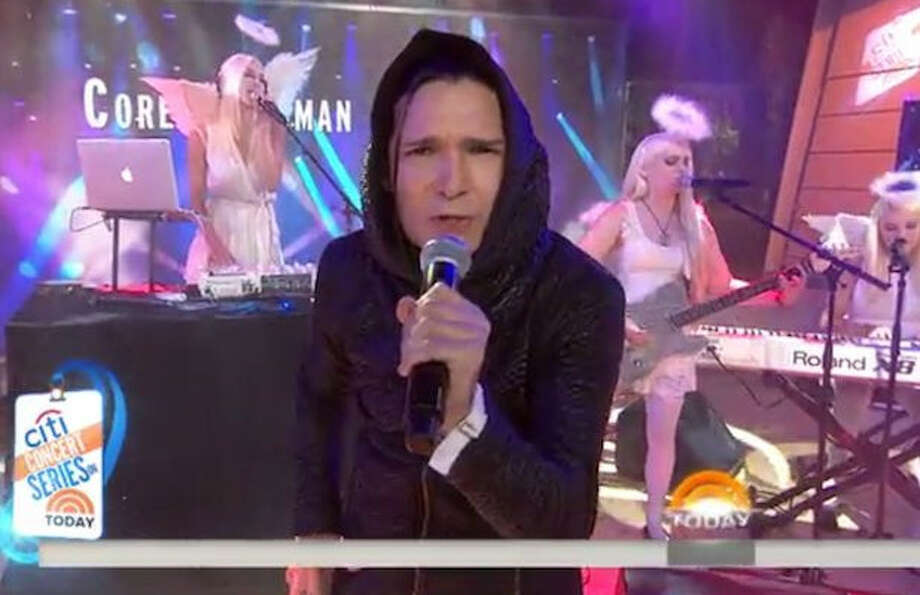 Corey Feldman on the Today show.