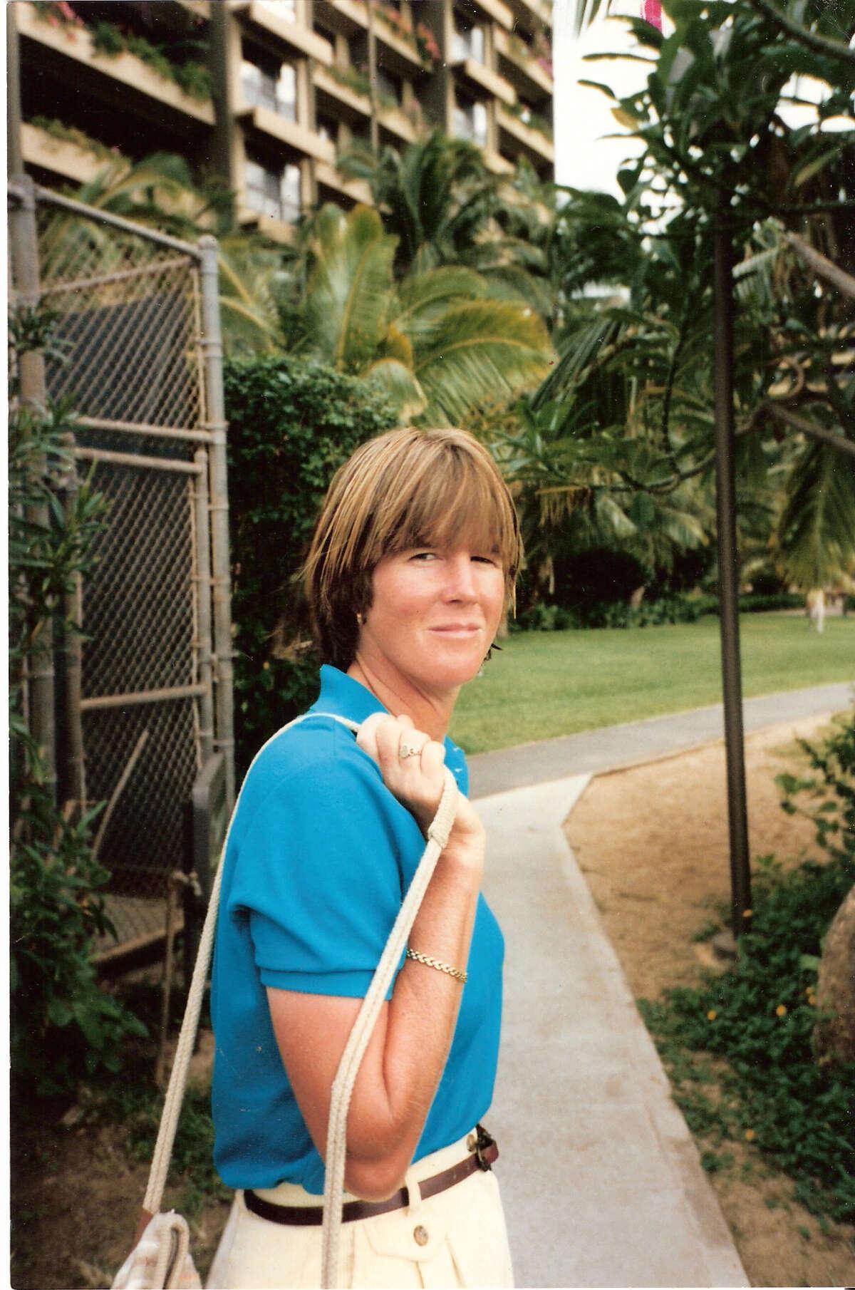Sarah Hunter in 1986.