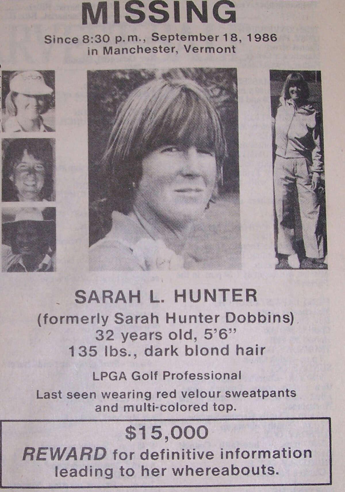 Missing poster for Sarah Hunter