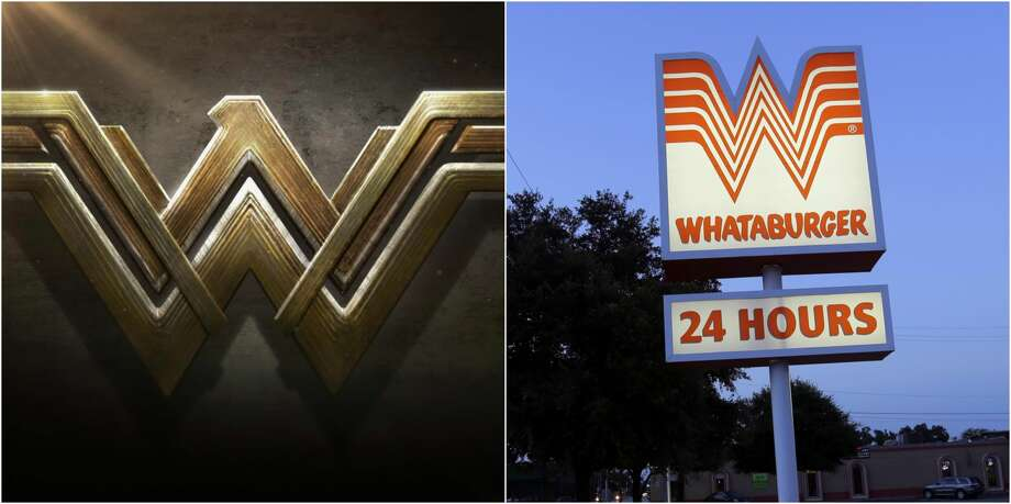 """According to a Whataburger spokesperson on Sept. 16, 2016, the San Antonio-based burger chain and DC Comics are currently involved in what the chain terms as a """"friendly trademark discussion"""" with classic comic book brand over the recent redesign of Wonder Woman's stacked W logo. Keep clicking for a look back at the history of Texas favorite fast food chain. Photo: File / DC Comics"""