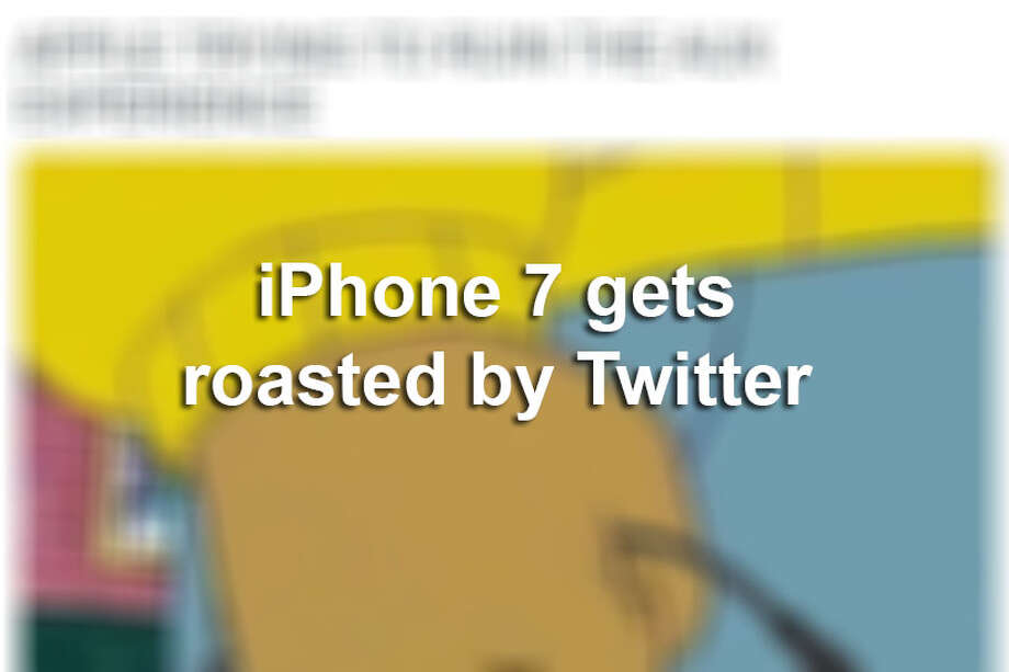 Apple hosted their yearly big reveal for introducing their newest iPhone and after the tech monster announced they were taking away the headphone jack, social media quickly blew up with criticism.  Photo: Twitter