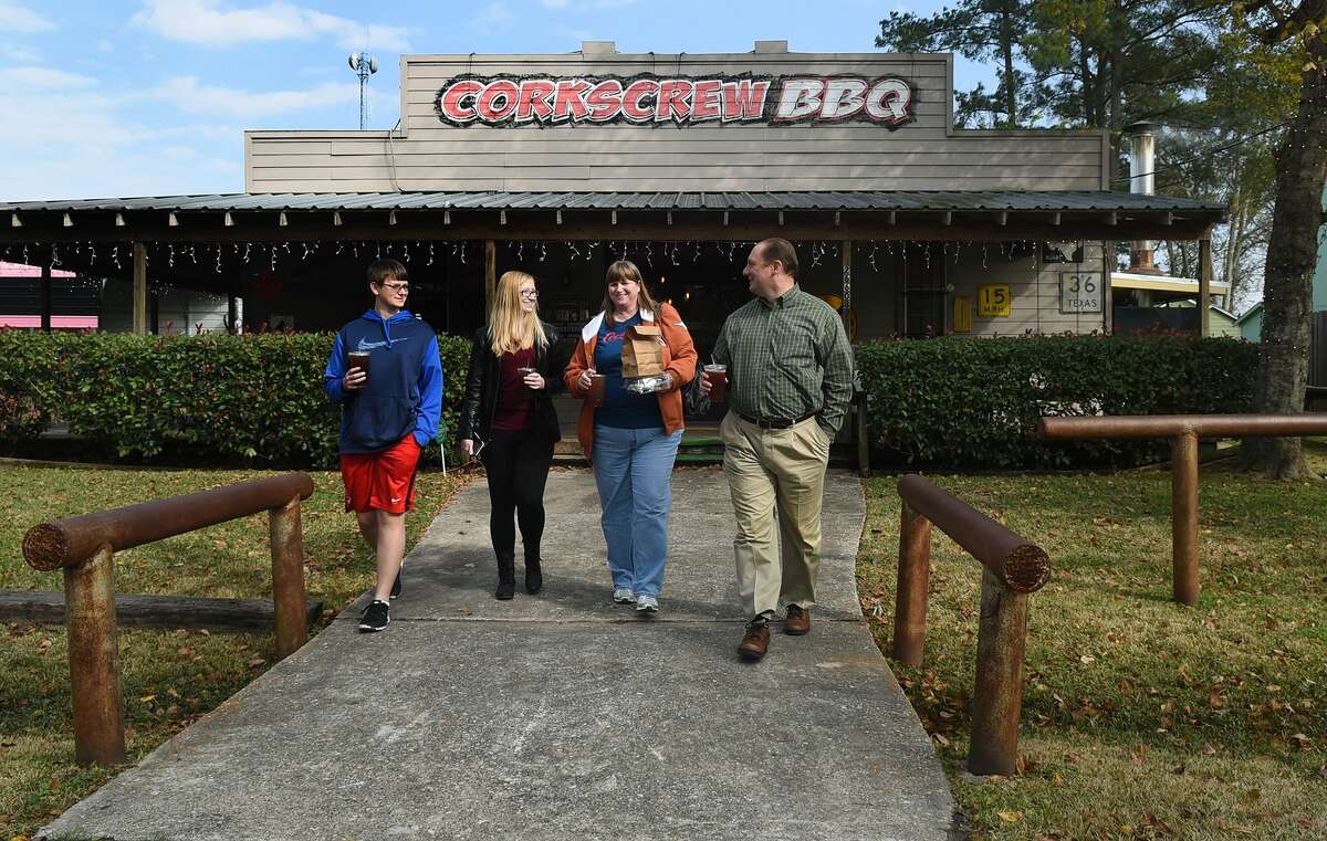 CorkScrew BBQ in Old Town Spring