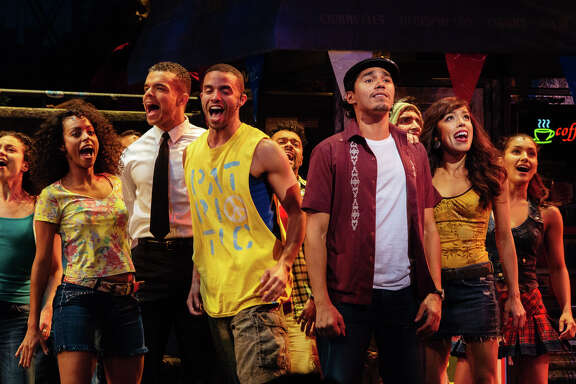 "The Cast of ""In The Heights,"" at Theatre Under the Stars"