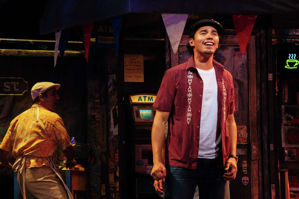 """Anthony Lee Medina stars in the Theatre Under The Stars production of """"In the Heights."""""""
