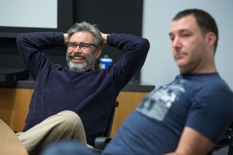 "Kevin O'Brien worked on ""The Iron Giant"" (1999) as a storyboard artist. Photo: Santiago Mejia, Special To The Chronicle"
