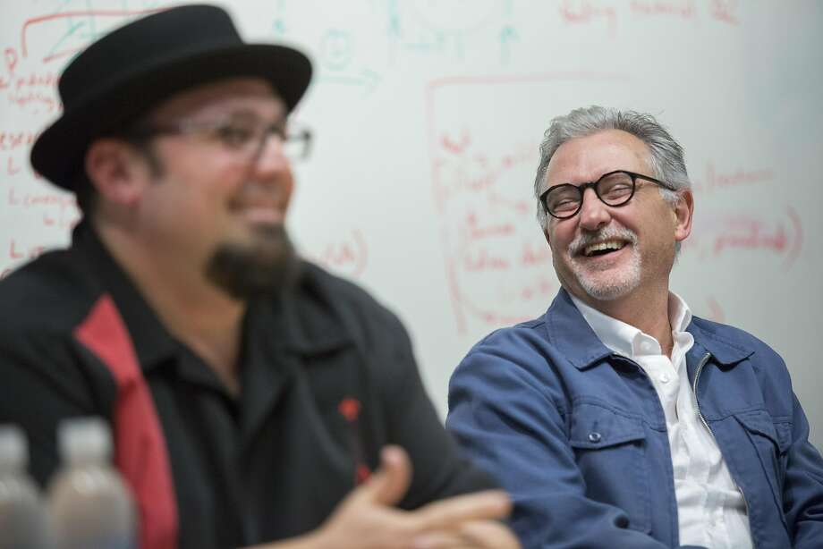 "John Walker worked on ""The Iron Giant"" (1999) as an associate producer. Photo: Santiago Mejia, Special To The Chronicle"