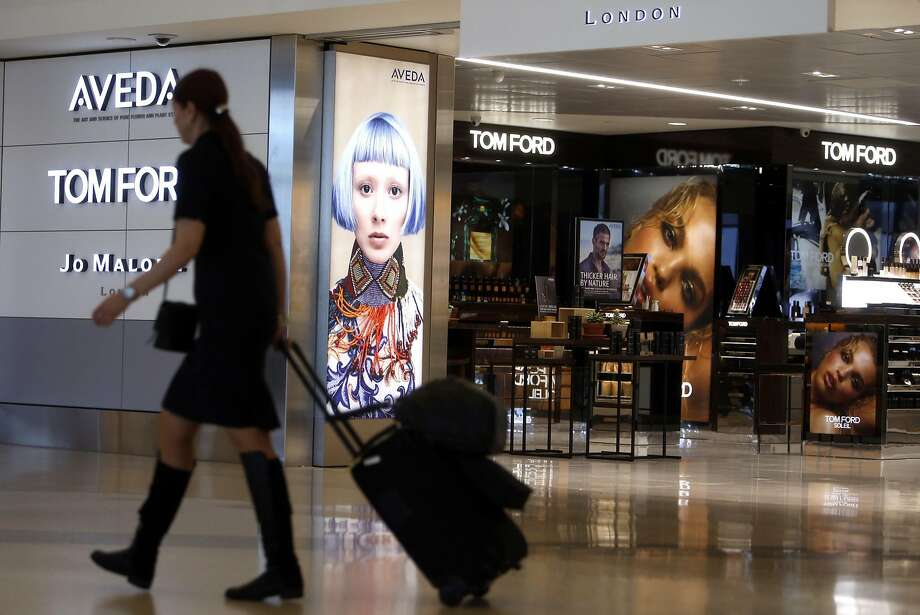 High-end retail outlets such as Jo Malone cater to passengers at SFO, which is the nation's fastest-growing airport for international travelers. Photo: Scott Strazzante, The Chronicle