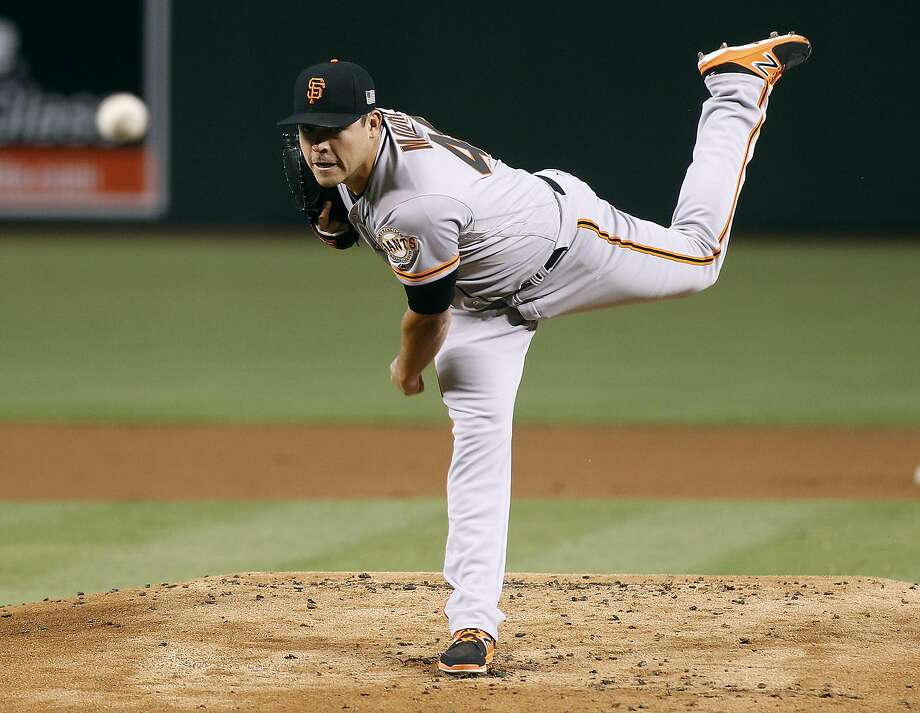 Matt Moore struck out 11 in his last start, against the Diamondbacks on Sunday. Photo: Ralph Freso, Associated Press