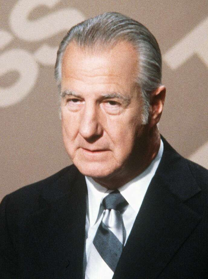 Ex-Vice President Spiro Agnew sparked a decades-long cam paign accusing the media of being biased, liberal and elitist. Photo: AP
