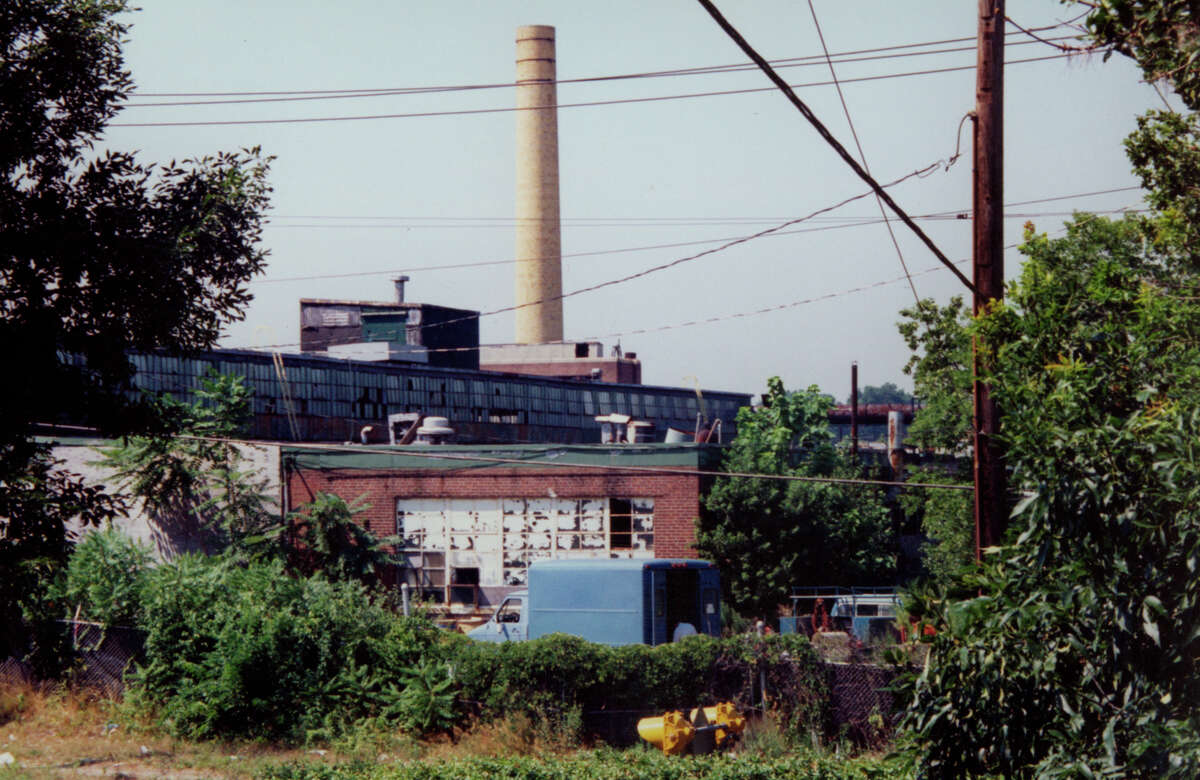 This undated photo provided by the Environmental Protection Agency shows the Raymark property, in Stratford prior to demolition in the 1990s.