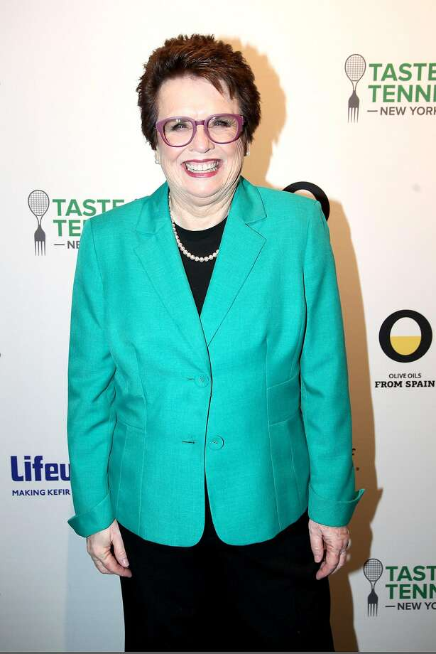 NEW YORK, NY - AUGUST 25: Former Tennis Pro Billie Jean King attends the Citi VIP Lounge at Taste Of Tennis New York on August 25, 2016 in New York City.  (Photo by Donald Bowers/Getty Images for AYS) Photo: Donald Bowers, Getty Images For AYS