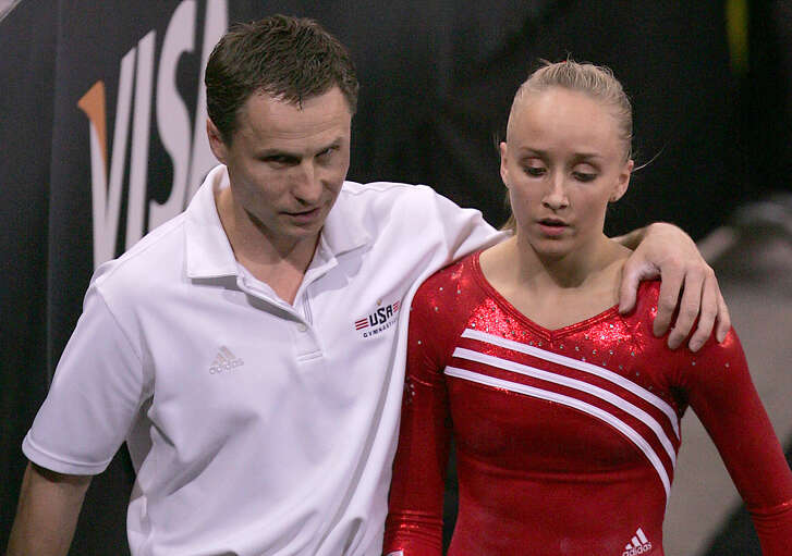 Valeri Liukin won two gold medals in the 1988 Olympics with the Soviet Union, while his daughter Nastia  won the all-around women's gold in 2008.