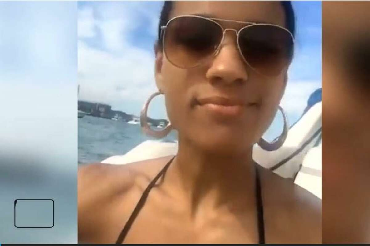 1. Kayla Hutch is on a yacht date with Emad Perotta who she met on tinder.