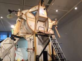 "Tom Sachs' ""Landing Exploration  Module"""