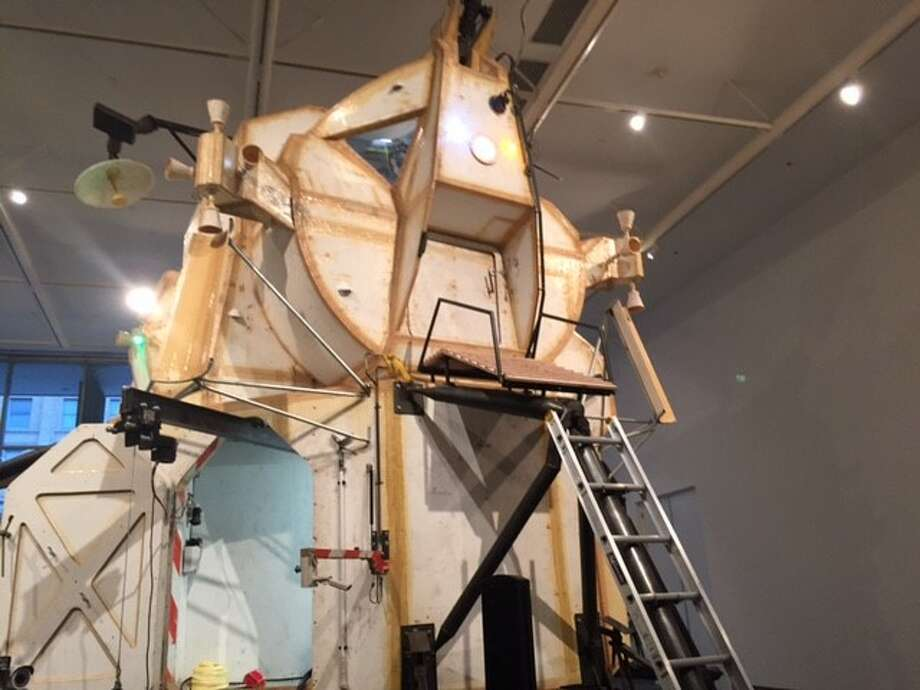 "Tom Sachs' ""Landing Exploration  Module"""