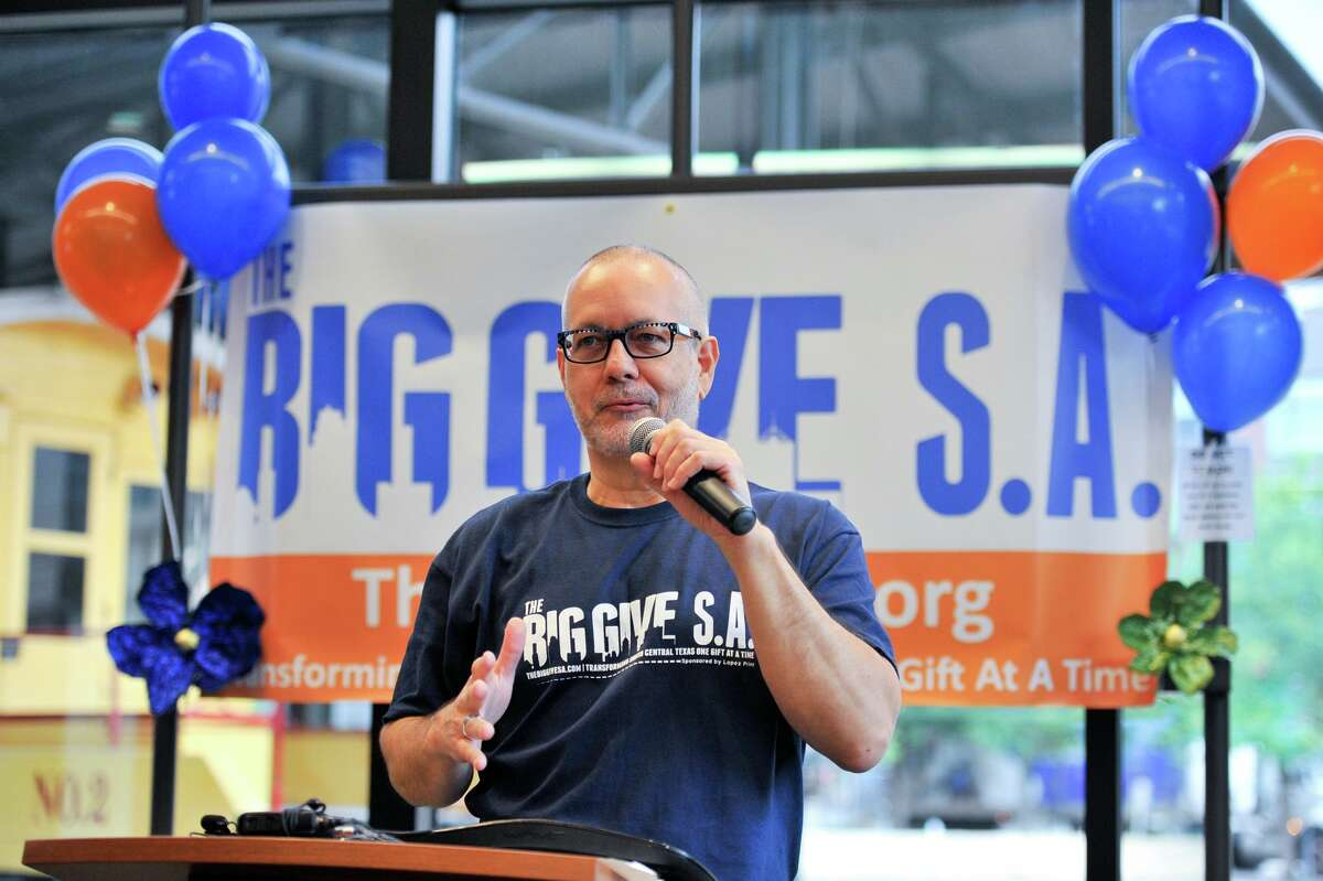 Scott McAninch, CEO of Big Give San Antonio, is repositioning the organization's fundraising efforts toward helping people and nonprofits impacted by the coronavirus. The Big Give Emergency Relief initiative will support more than 500 nonprofits in the 15 counties in and around San Antonio.