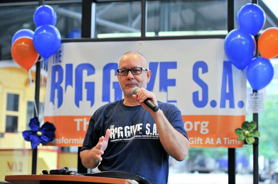 Scott McAninch, CEO of the Nonprofit Council and an organizer of Big Give, said the goal for next year will be to raise $10 million for area nonprofits. Photo: Robin Jerstad /For The San Antonio Express-News
