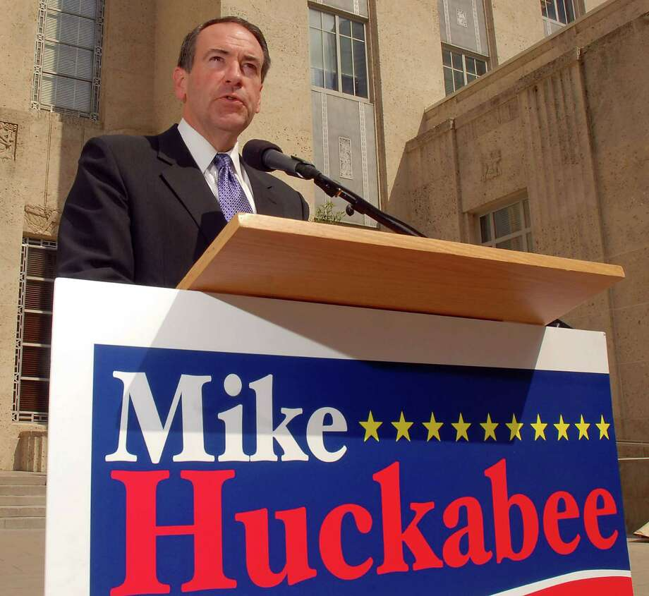 Presidential candidate Mike Huckabee, shown here in 2007, was an early proponent of the Fair Tax. Photo: Dave Rossman /For The Chronicle / Freelance