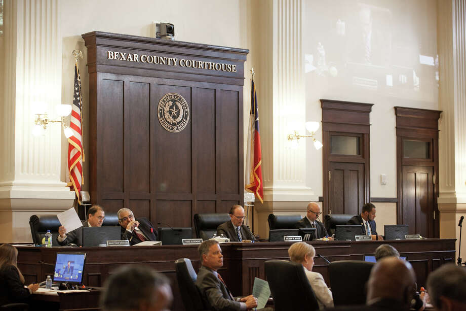 Commissioners Court included some prudent cuts in the 2017 budget, but some of them are temporary. The cuts should be made permanent. Photo: Julysa Sosa For The San Antonio Express-News /Julysa Sosa For The San Antonio Express-News