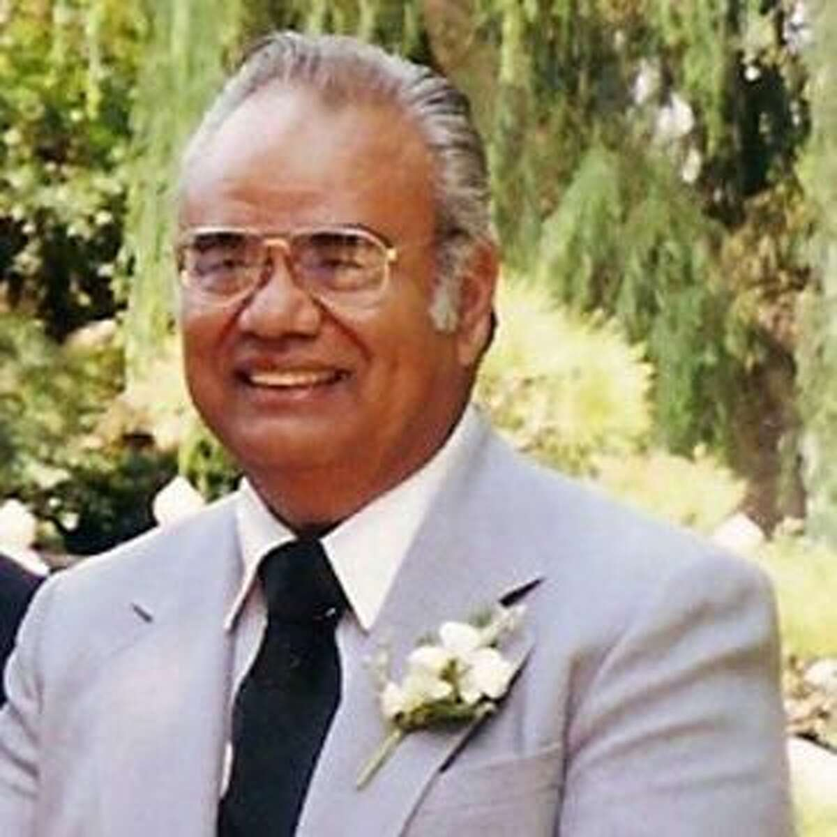 Ernest Russell Lopez received his masters of divinity degree in 1970.