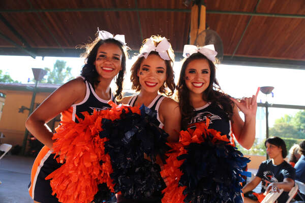 Fans were in high spirits before the start of the UTSA Arizona State game Friday at the Alamodome Sept. 16, 2016.