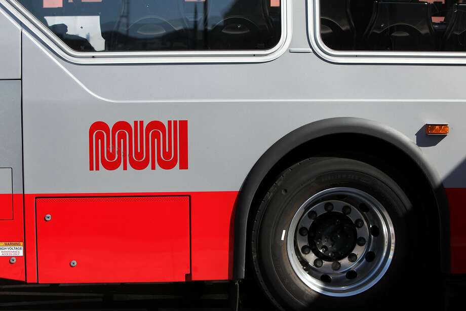 A Muni bus in San Francisco, California on Friday, September 15,  2016. Photo: Gabriella Angotti-Jones, The Chronicle