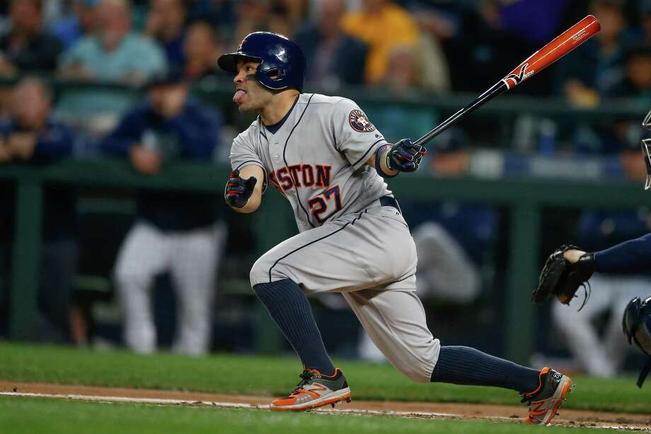 Jose Altuve and the Astros are running out of time in their bid to make the playoffs for the second consecutive year. Photo: Otto Greule Jr, Stringer / 2016 Getty Images