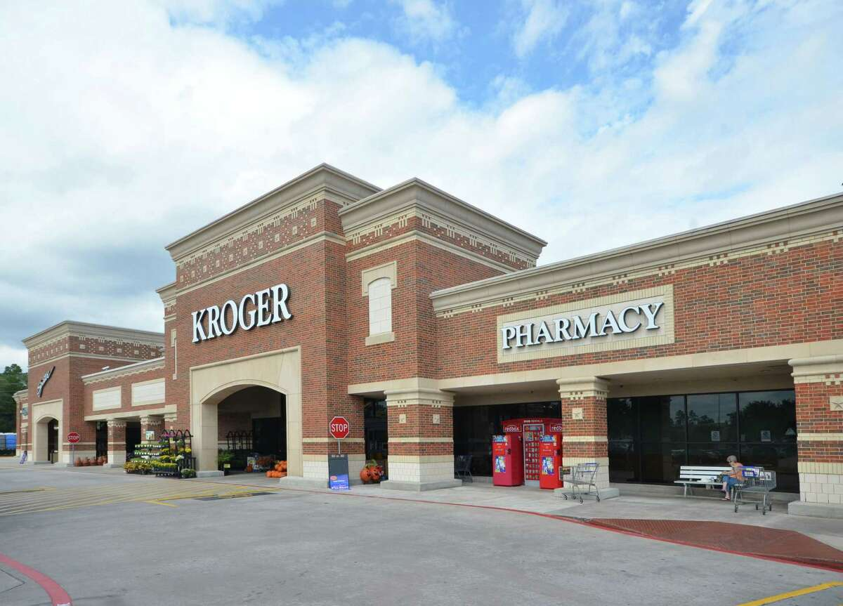 The Market at 1488, a Kroger-anchored shopping center at FM 1488 and FM 2978 in Magnolia.