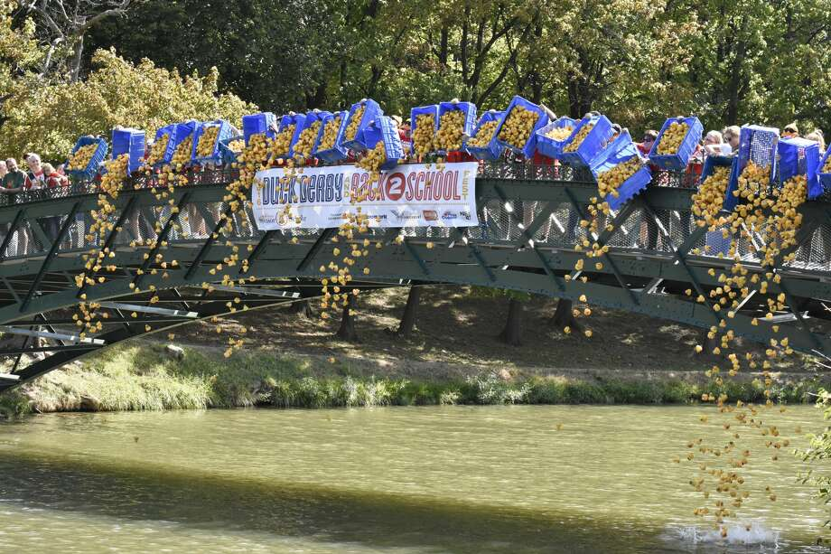 Were you Seen at the 2016 Duck Derby and Back2School Fest fundraiser forCapital Region Sponsor-A-Scholar at Washington Park in Albany onSaturday, Sept. 17, 2016? Photo: Paul Riley