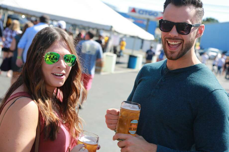 Two Roads Brewing Company in Stratford held its 4th annual Ok2berfest on  September 17 and 18, 2016. Guests enjoyed German music, German-style  beers, food, games. Were you SEEN? Photo: Derek Sterling