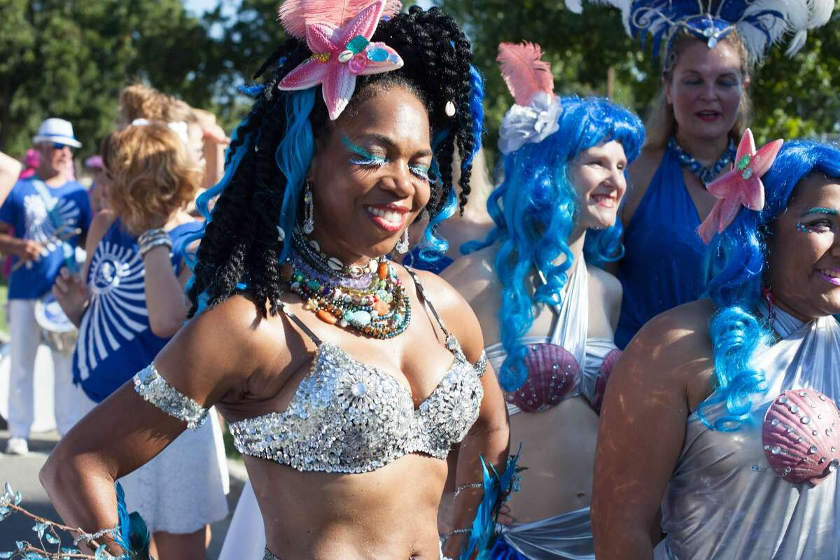 San Marcos got all wet and wild on Saturday, Sept. 17, during the Mermaid Splash festival and parade.