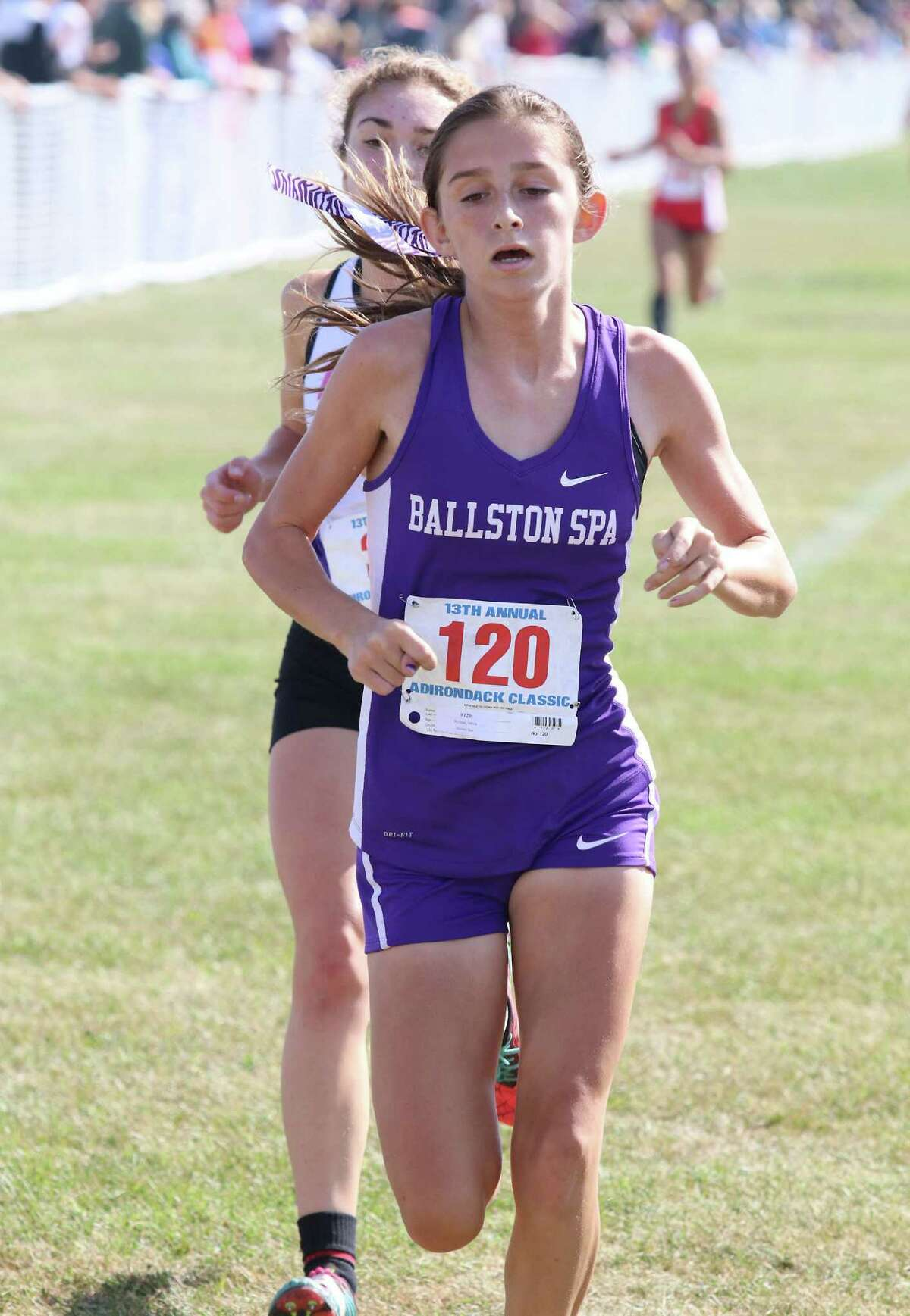 Olivia Lazarou, Amsterdam girls' cross country:Captured the Large School title at the Fort Plain Invitational in 18:19.9.