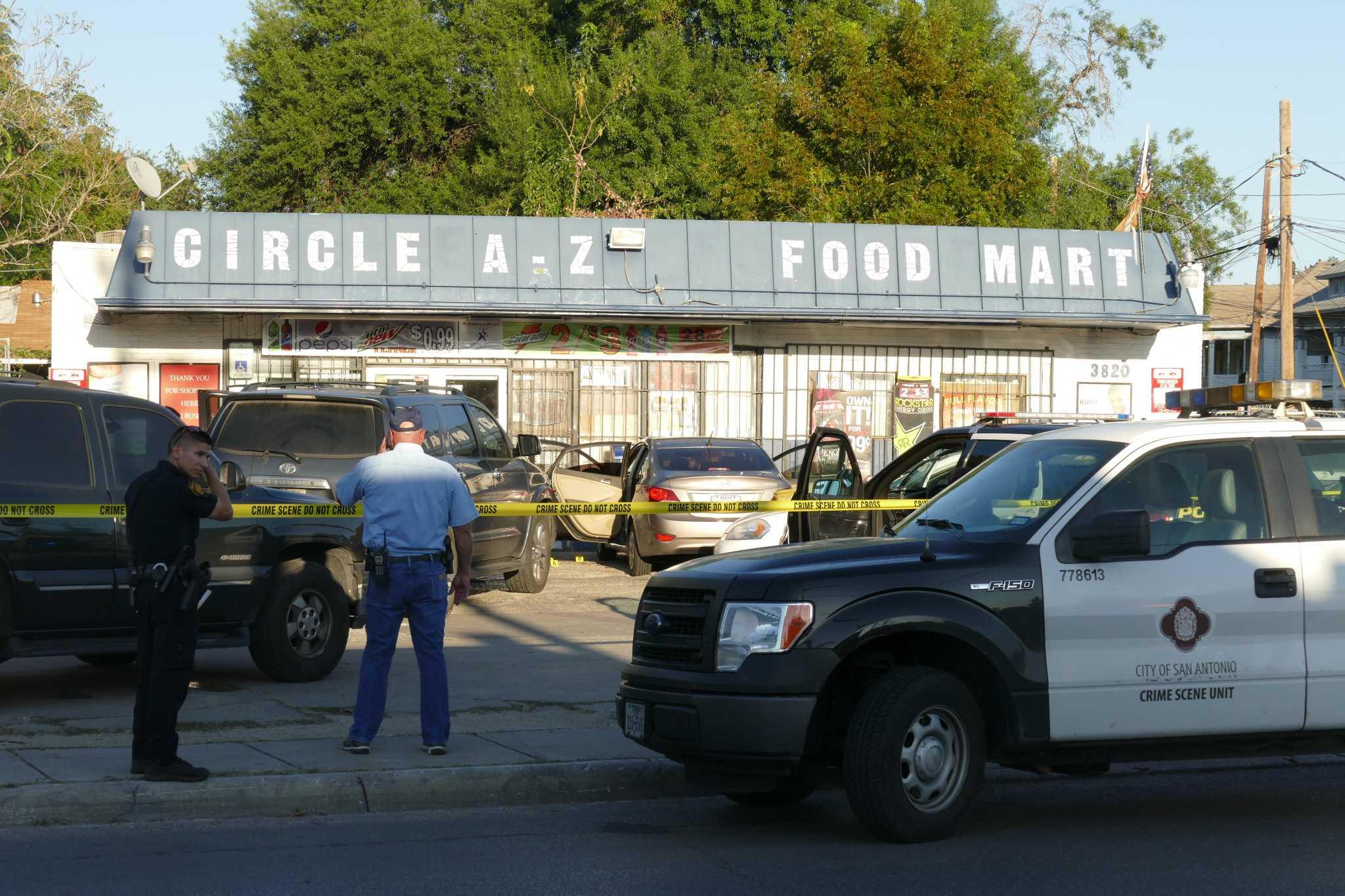 Suspect in stolen vehicle shot three times during arrest san antonio express news