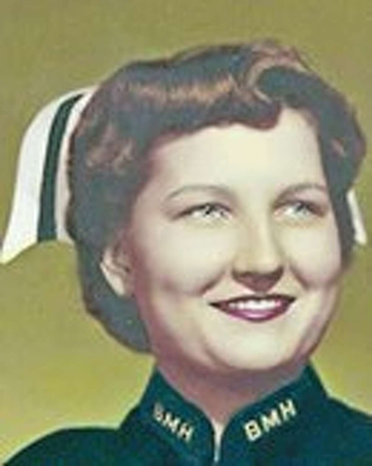 Mildred L. Naegelin Babcock was known for her no-nonsense attitude and immaculate nursing uniform.