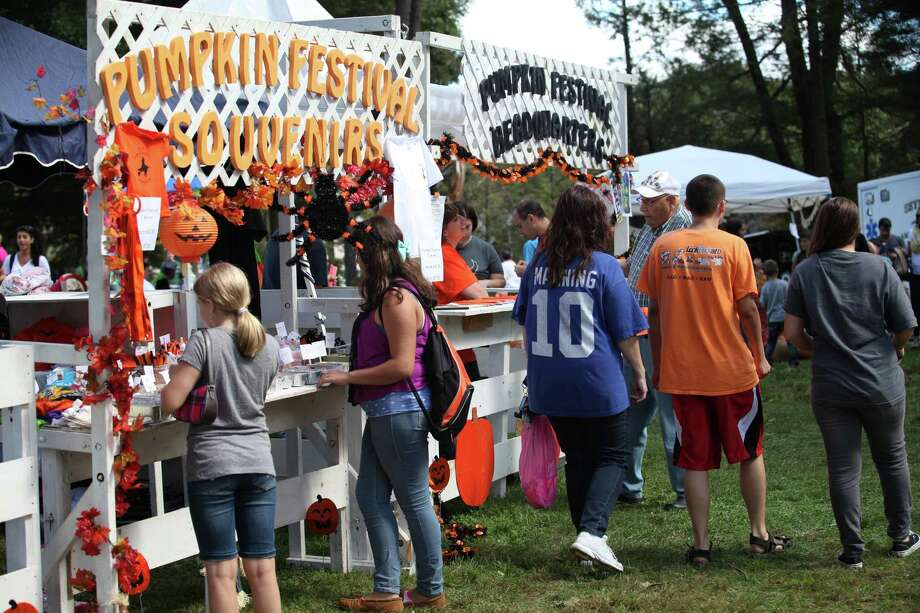 The 48th Annual Seymour Pumpkin Festival at French Memorial Park on Sunday, Sept. 22, 2013. Photo: BK Angeletti / B.K. Angeletti / Connecticut Post freelance B.K. Angeletti