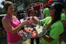 The annual Margarita Pour Off Saturday, Sept. 17, 2016, at Sunken Garden Theater was everything these revelers wanted and more.