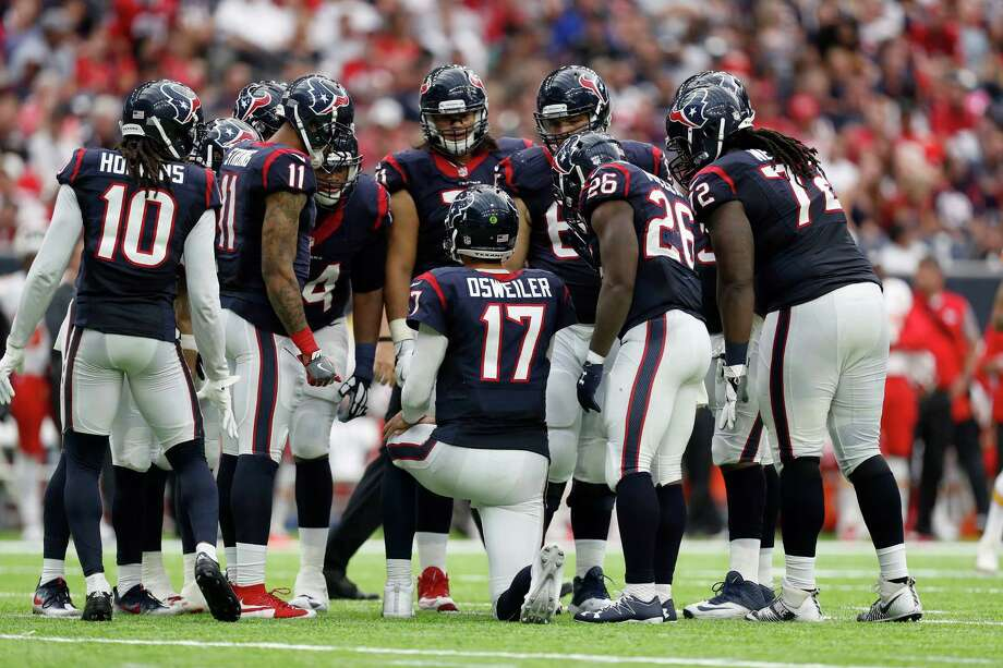 Titans at Texans:McClain –  TexansRobertson –  TexansWilson –  TexansSolomon –  TexansSmith –  TexansCreech –  Texans Photo: Karen Warren, Houston Chronicle / 2016 Houston Chronicle