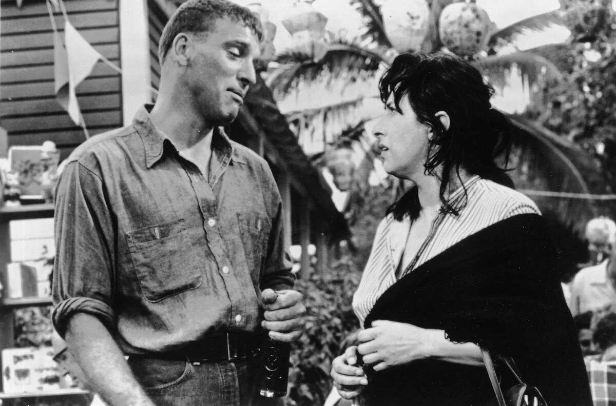 Burt Lancaster (left) and Anna Magnani in