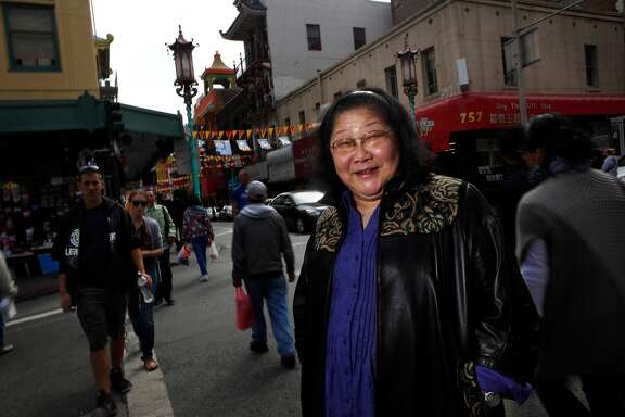 Rose Pak is seen on the corner of Grant Avenue and Clay Steet in Chinatown in San Francisco, Calif. on Friday September 17, 2010.