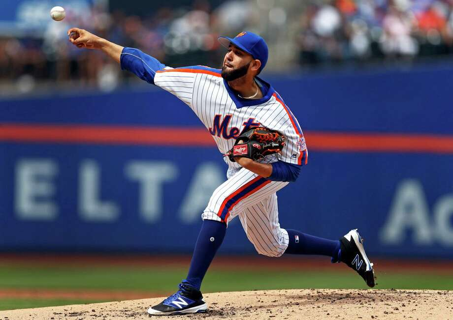 NEW YORK, NY - SEPTEMBER 18: Gabriel Ynoa #63 of the New York Mets delivers a pitch during the second inning against the Minnesota Twins at Citi Field on September 18, 2016 in the Flushing neighborhood of the Queens borough of New York City. (Photo by Adam Hunger/Getty Images) ORG XMIT: 607685367 Photo: Adam Hunger / 2016 Getty Images