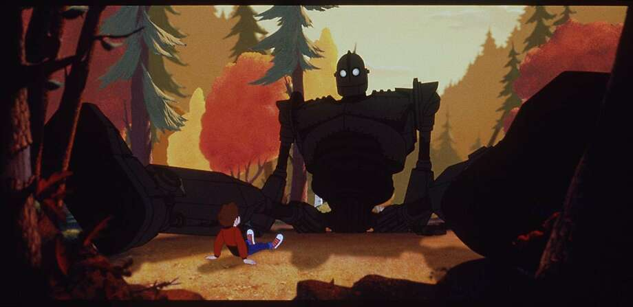 "A scene from ""The Iron Giant."" Photo: HANDOUT"