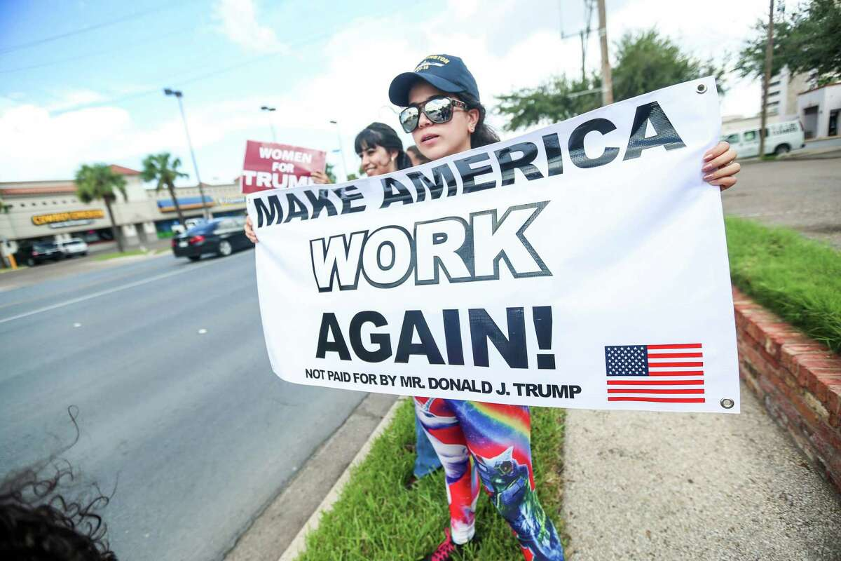 Miriam Cepeda, 25, has become known for her efforts to support Donald Trump in South Texas.