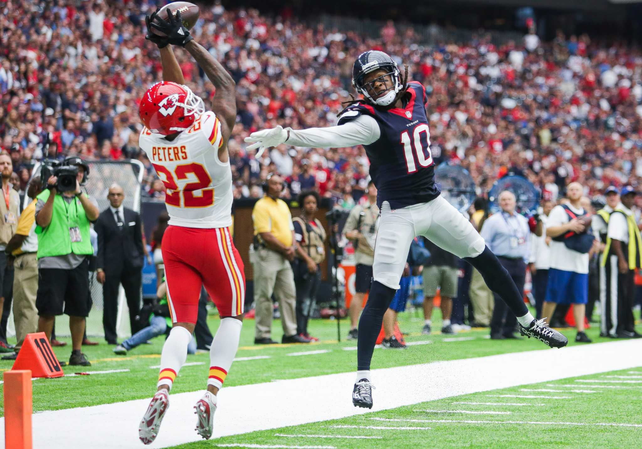 Texans DeAndre Hopkins Will Fuller duo tops Marcus Peters and