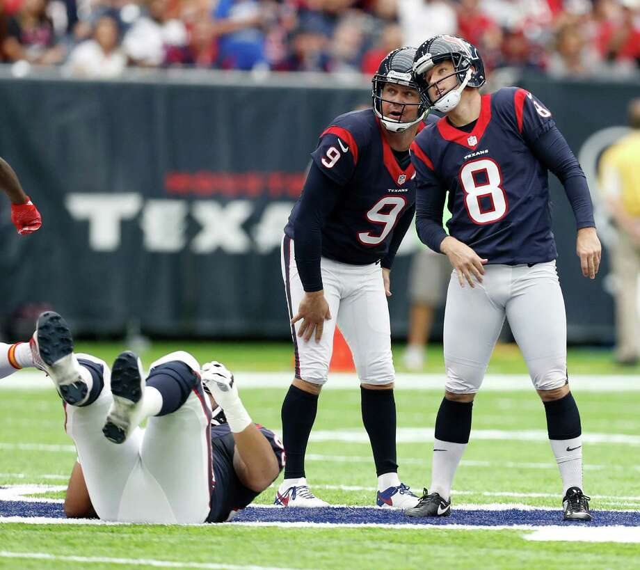 Texans kicker Nick Novak (8) and punter Shane Lechler are back in the fold for 2017.Click through the gallery to see the NFL's top free agents this spring. Photo: Karen Warren, Staff Photographer / 2016 Houston Chronicle