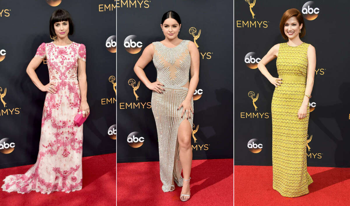>>Keep clicking for our picks of the best and worst fashion of the 2016 Emmy Awards.