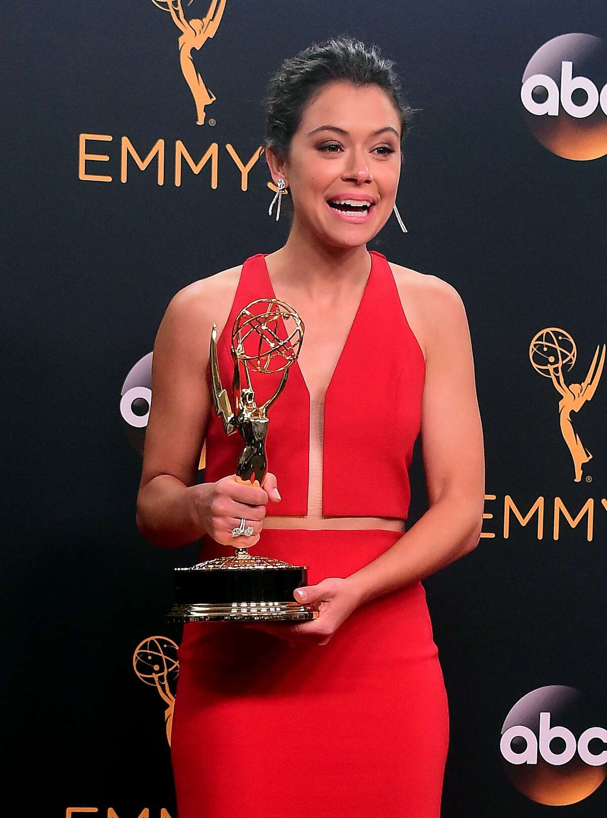 Tatiana Maslany, winner of Outstanding Actress in a Drama Series for