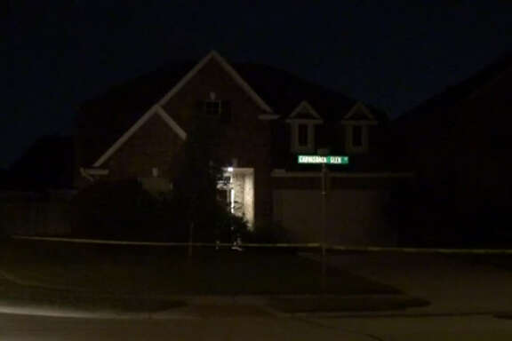 A 33-year-old man was shot to death Sunday night during a robbery at a home in north Harris County.