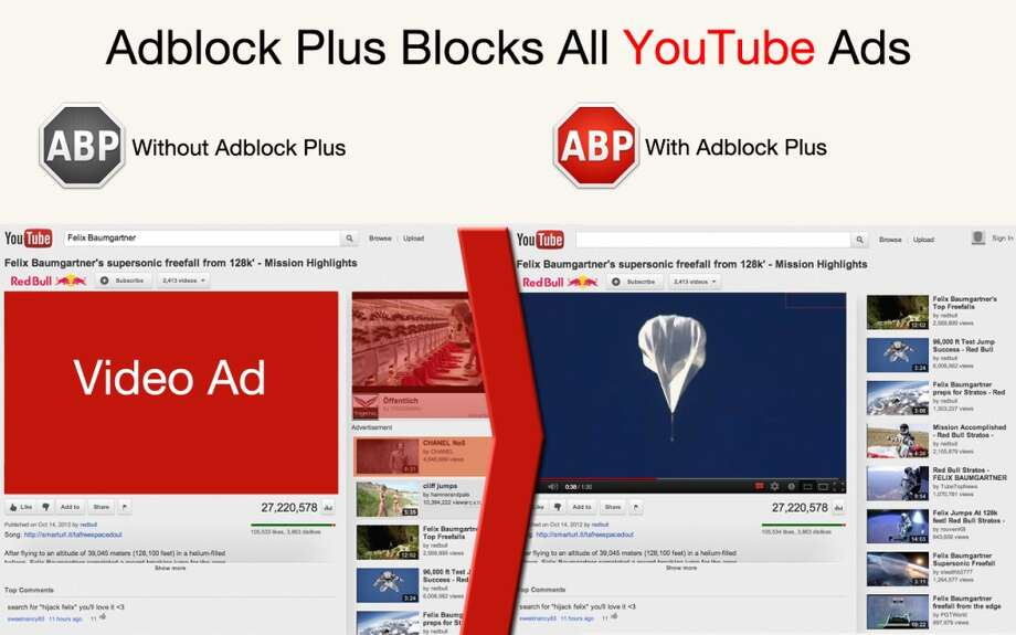 "Adblock Plus (adblockplus.org): The name says it all, yet Adblock Plus does so much more. Not only does the popular extension block ads as well as malware and third-party tracking, it also supports websites by not blocking unobtrusive ads by default. Sound contradictory? Adblock Plus calls it its Acceptable Ad initiative, ""a sustainable middle ground between the user's choice to use ad blockers and the continued need to support free online content with advertisements."" That said, you still can disable this option if you wish. Photo: Courtesy Adblock Plus"