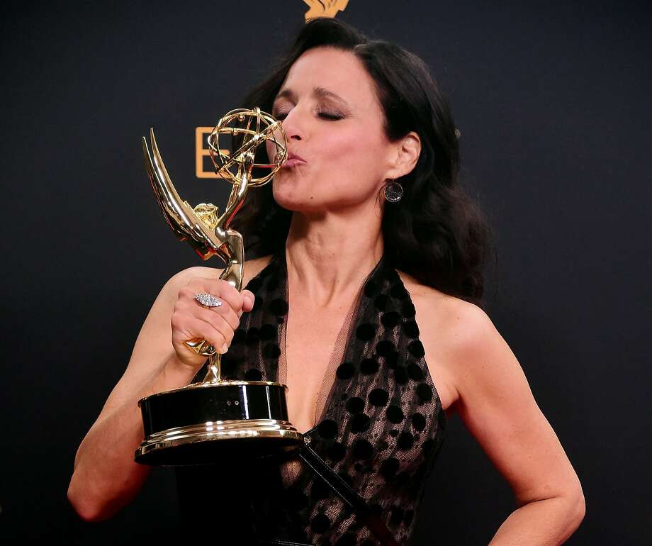 "Julia Louis-Dreyfus won as lead actress for ""Veep."" Photo: FREDERIC J BROWN, AFP/Getty Images"